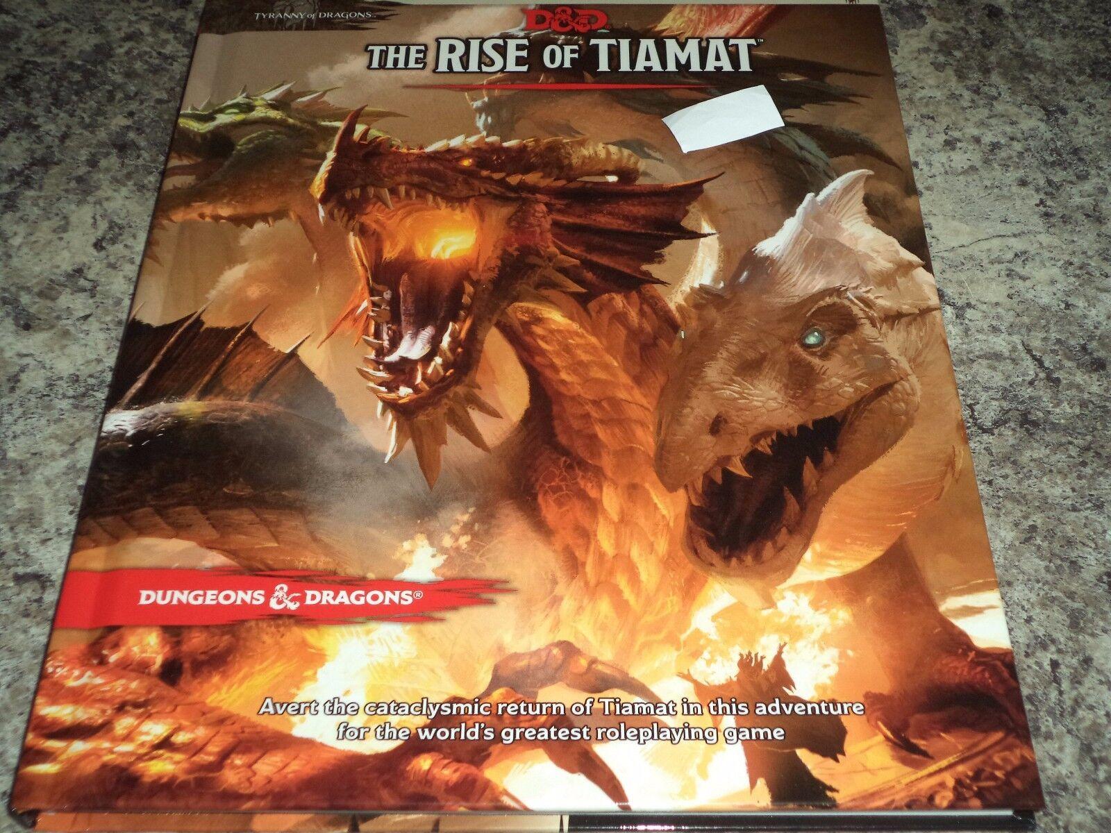 The Rise Of Tiamat Dungeon e Draghi Avventura Campagna Libro 5  Edizione Hc.
