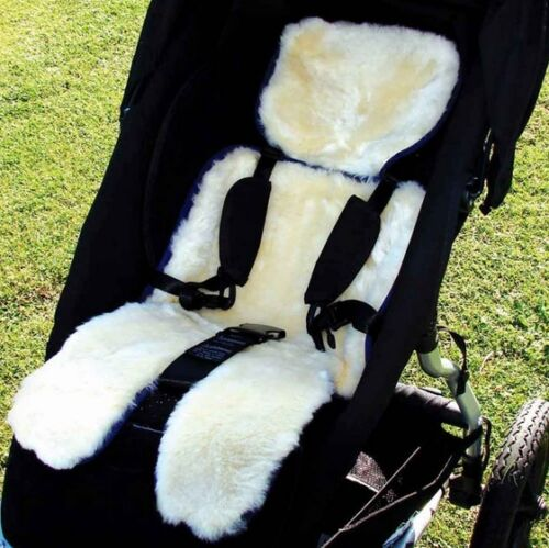 976505 Bowron Strollerfleece Natural Lambskin Stroller and Car Seat Cover