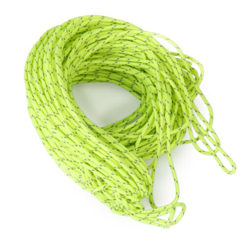 2.5MM Camping Tent Awning Reflective Guyline Rope Runners Guy Line Cord #dh