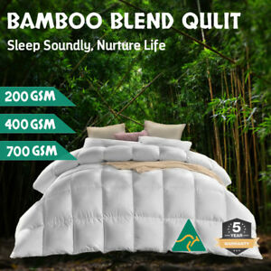 Aus-Made-All-Size-Microfiber-Microfibre-Bamboo-Winter-Summer-Quilt-Duvet-Doona