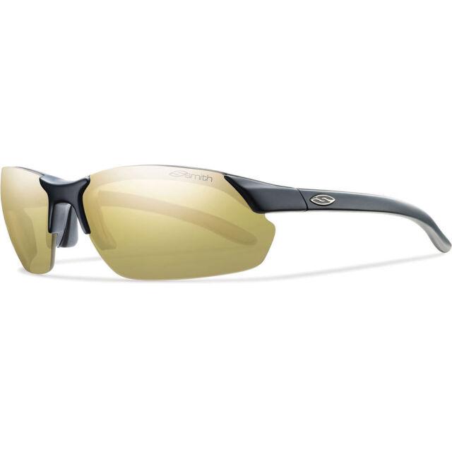 Smith PARALLEL MAX Sunglasses - Matte Black / Polar Gold Mirror, Ignitor & Clear
