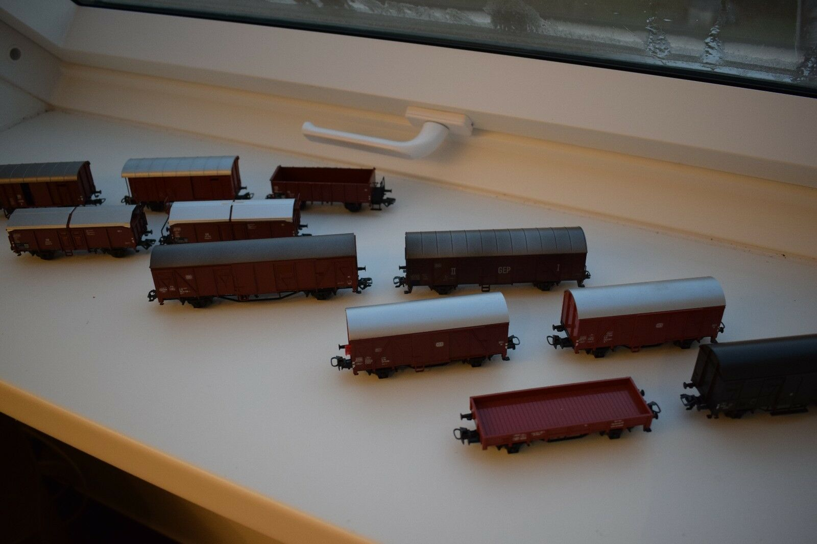 11x Märklin Goods Wagons Set h0  TOP