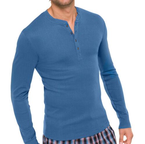 SCHIESSER Herren Mix /& Relax Shirt Langarm T-Shirt 48-66 S-7XL Schlafshirt NEU
