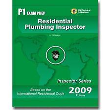 P1  ICC Plumbing Inspector Exam Practice Exam Questions Test Workbook 2009