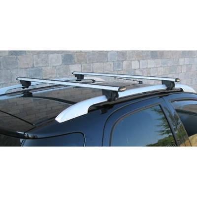 Barre portatutto per auto con railing aperto K39 Rapid telescopiche in alluminio