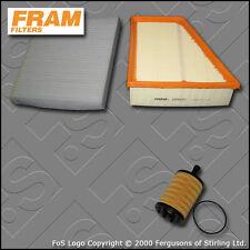 SERVICE KIT for SEAT IBIZA (6L) 1.9 TDI FRAM OIL AIR CABIN FILTERS (2002-2009)
