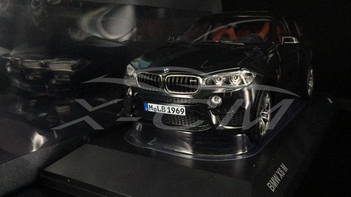 Diecast voiture Model  BMW X6M 1 18 (Noir) + cadeau  acheter pas cher