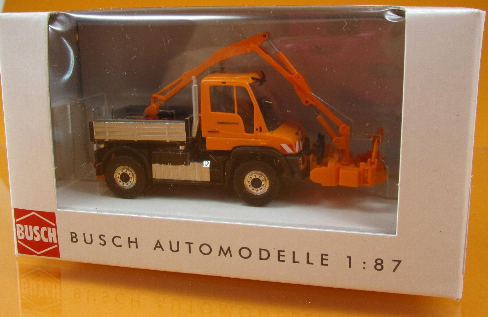 Busch 50922 Mercedes Benz Unimog U 430 Astschere Scale 1 1 1 87 NEU OVP ce4b79