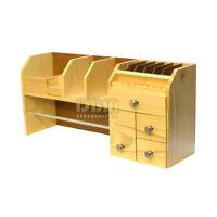 Jewelers Watchmakers Workbench Storage Organizer Tool Rack Wooden Box