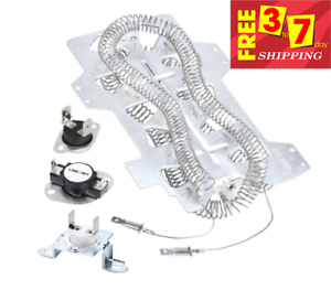 Details about  /Dryer Thermal Fuse Thermostat Kit For Samsung Dryer DV220AEW//XAA DV306LEW//XAA