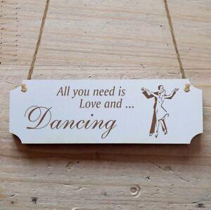 "Videro Dekoschild ""DANCING"" ballare  </span>"