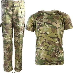 WORLD BOOK DAY BOYS ARMY COSTUME KIDS VEST TROUSERS HELMET T-SHIRT DPM CAMO