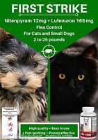 Flea Killer And Control For Cats And Small Dogs, 6 Capsules