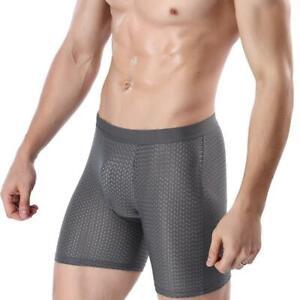 Men-Underwear-Body-Shaper-Shorts-Pants-Soft-Fitness-Boxer-Pouch-Breathable-P8Z2