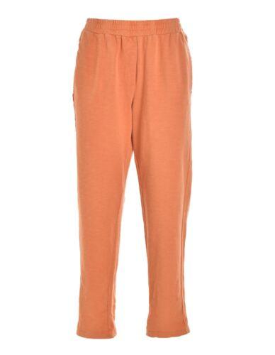 Felpa Pantalone Moda Casual Elasticizzato In Deha Arancione Morbido Donna Da wUnBwqpC