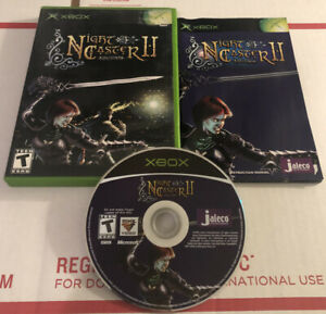 NightCaster-II-Equinox-Microsoft-Xbox-2002-Complete-Game-Tested-Nice-Disc