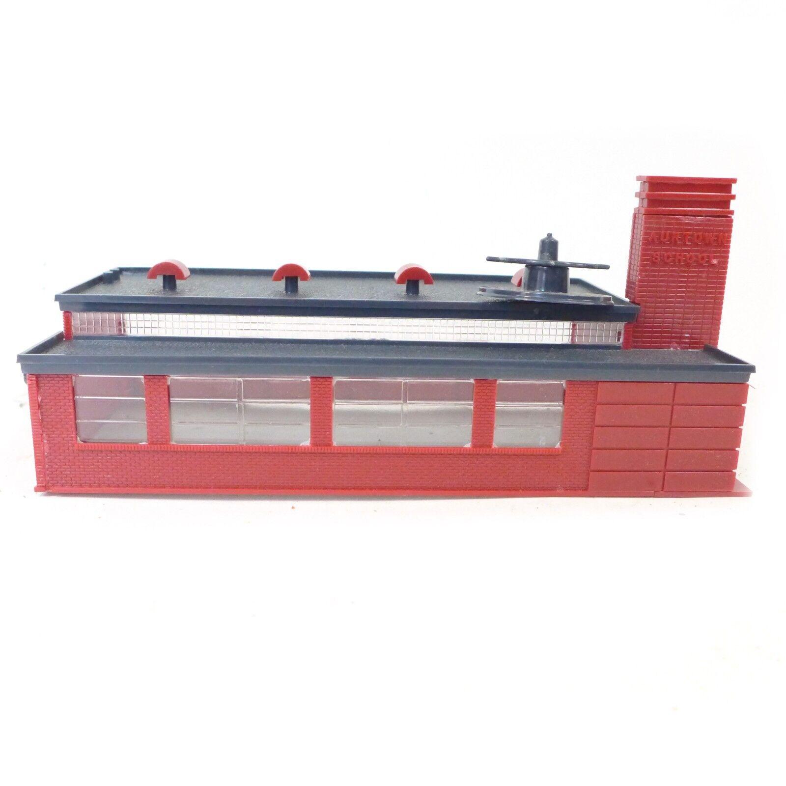Vintage Ho Scala Rosso Warehouse Giocattolo Costruzione Modello 20.3cm