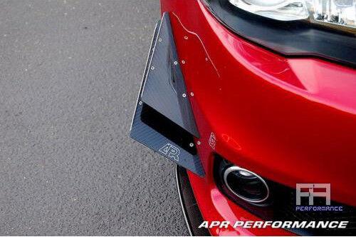 APR Carbon Fiber Front Bumper Canards *4pc* for Evolution Evo 10 X 08-15