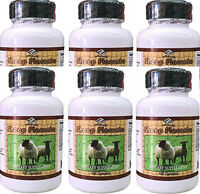 6 Sheep Placenta With Grape Seed, Collagen, Vitamin E Zinc 600capsules In Total