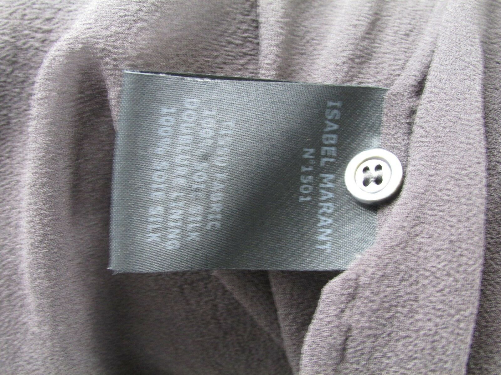 Isabel Marant Straight Ruffled dress in in in Grey size 38 f9e35e