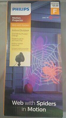 NEW Philips Halloween LED Indoor//Outdoor Motion Projector Skulls Cool White 20/'