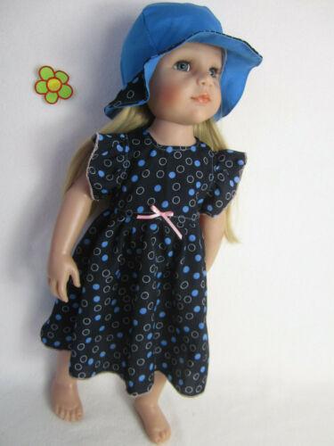abitino con punti Bambole vestiti si adatta Hannah /& Jessica 46-50cm grande