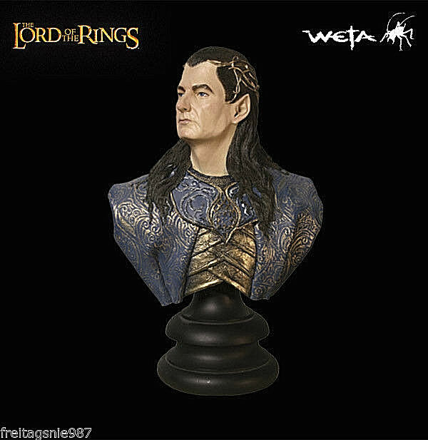 LORD OF THE RINGS GIL-GALADS bust 1 4 scale ltd 3000 by Weta Sideshow