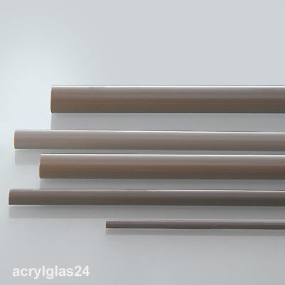 Länge frei wählbar Polyetheretherketon PEEK natur Rund Rundmaterial Durchmesser