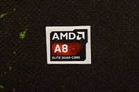 Amd A8 Elite Quad Core Sticker 16.5x19.5mm Apu Case Badge Usa Seller