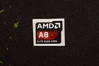 Amd A8 Elite Quad Core Sticker 16.5x19.5mm Apu Case Badge Usa Seller