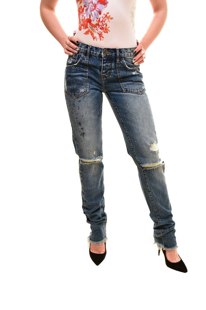 One Teaspoon Women's Awesome Baggies Jeans bluee Size 26 RRP  BCF84
