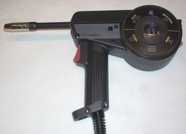 Mig Welding Spool Gun Aluminum Fit Lincoln Power Mig Torch Welder 10'   023- 030