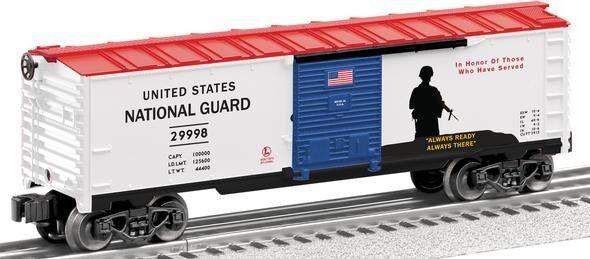 O escala Usa Usa Usa Guardia Nacional Furgón  29998-Lionel Nº 6-29998 acea10