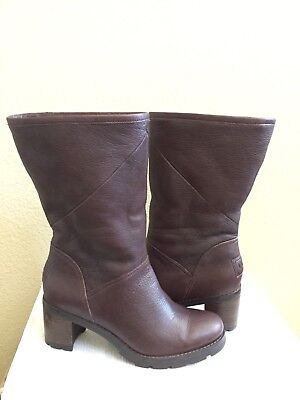 15c4af7f64b UGG JESSIA STOUT LEATHER WATER RESISTANT BOOT US 9 / EU 40 / UK 7.5 ...