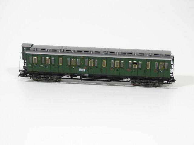 216HO //19 Fleischmann 5085 der DRG Kl top in OVP Personenwagen grün 2
