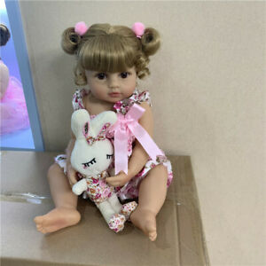 22-034-Reborn-Baby-Toddler-Girl-Princess-Doll-Lifelike-Soft-Full-Body-Silicone-Doll