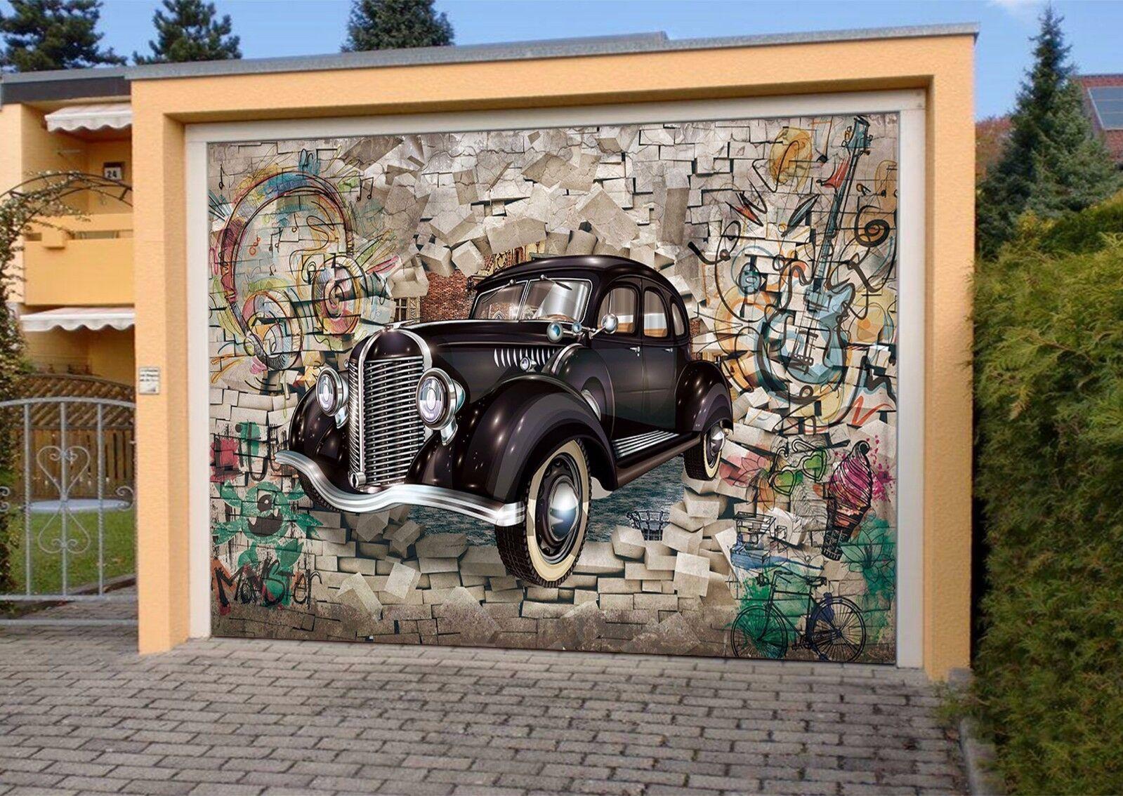 3D Modern Car 732 Garage Door Murals Wall Print Decal Wall AJ WALLPAPER UK Carly