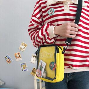 Transparent-Badge-Doll-Show-handbag-itabag-Cross-body-Messenger-Bag-Satchel