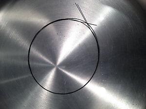 1m Formgedächtnis Draht NiTiNol (shape memory alloy - SMA) smart material