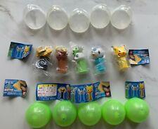 Complete set of 5 Bandai Pokemon 5 mini PEZ Dispenser