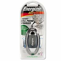 Energizer Instant Cell Phone Charger Powers Most Motorola Cell Phones