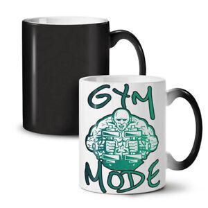 Gym Mode Workout Sport NEW Colour Changing Tea Coffee Mug 11 oz | Wellcoda