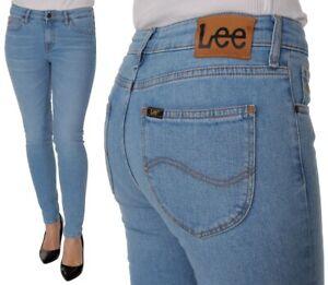 Lee-Damen-Jeanshose-Scarlett-Skinny-Blau-Flight-W24-W32