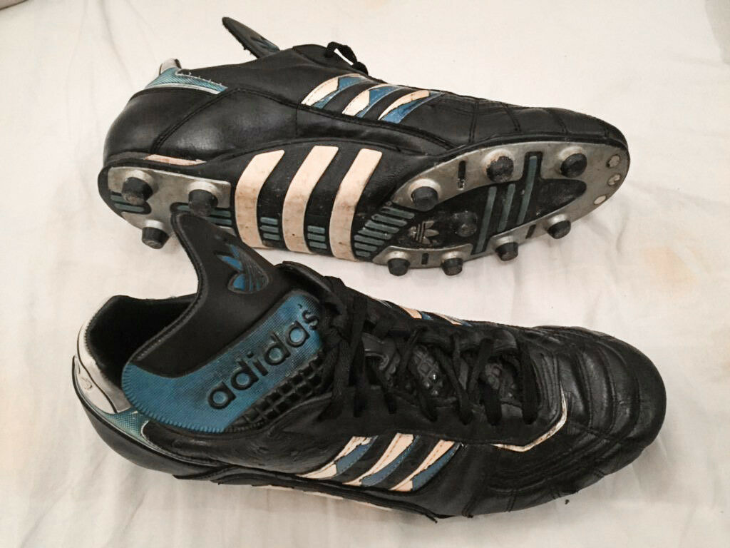 Adidas Stratos Vintage FG Soccer Footbtutti stivali fatto in France US11.5 Etrusco