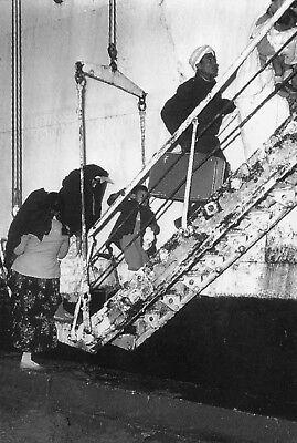 Départ des Harkis en novembre 1962 Guerre d/'Algérie