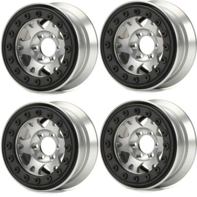 Tienda 2018 Pro-Line 2762-00 2762-00 2762-00 Pro-Forge 6 Lug 1.9 Aluminio beadlock rueda 4 (4) Rock Crawler  venta al por mayor barato