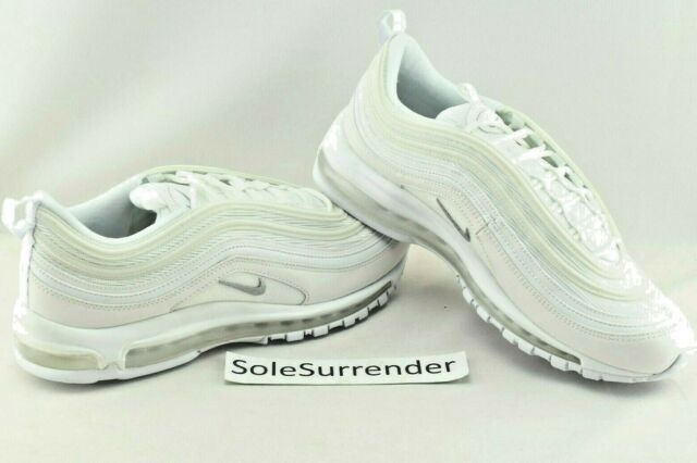 quite nice dca0f 31bd7 Nike Air Max 97 - CHOOSE SIZE - 921826-101 Triple Whiteout OG QS Wolf