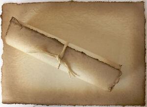 papier antik a001 mittelalter einladungen hochzeit urkunde, Einladung