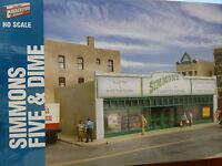 Walthers Cornerstone Ho 3464 Simmons Five & Dime - Main Street Usa -- Kit