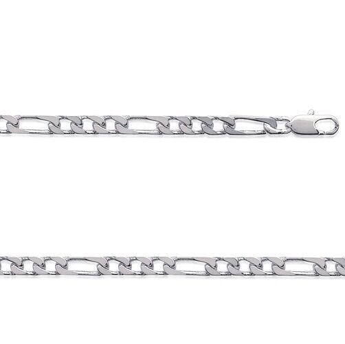 Chaine HOMME argento FIGARO 1-3    70 cm Largeur 4 mm NEUF BijouterieJOLYBIJOUX 768752